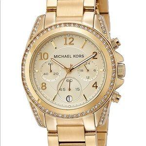 Michael Kors Gold Runway Watch